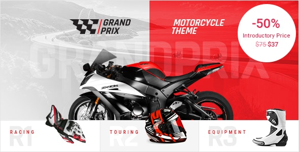 Tema GrandPrix - Template WordPress