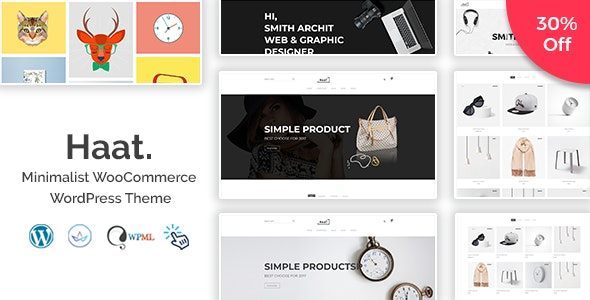 Tema Haat - Template WordPress