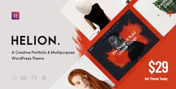 Tema Helion - Template WordPress