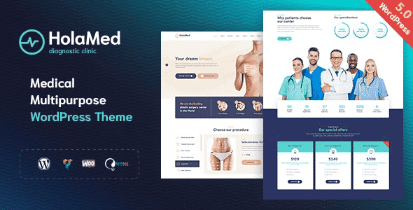 Tema Holamed - Template WordPress