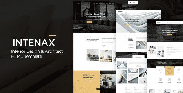 Tema Intenax - Template WordPress
