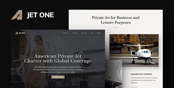 Tema Jet One - Template WordPress