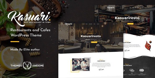 Tema Kasuari - Template WordPress