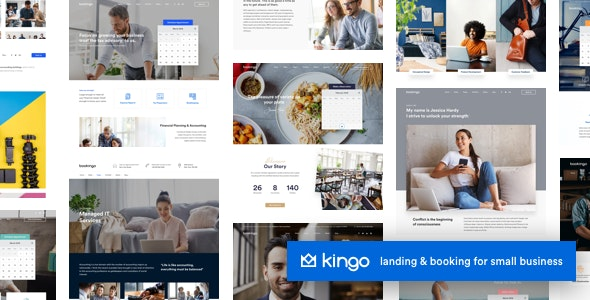 Tema Kingo - Template WordPress