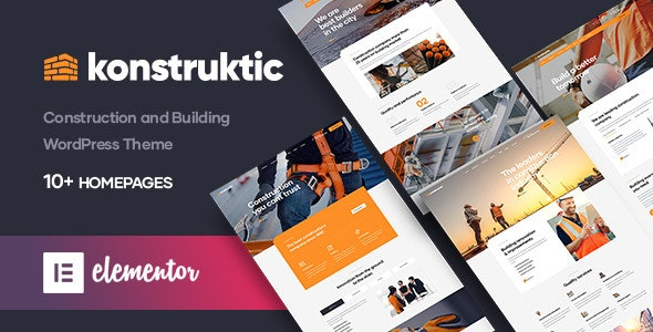 Tema Konstruktic - Template WordPress