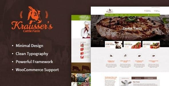 Tema Kraussers - Template WordPress