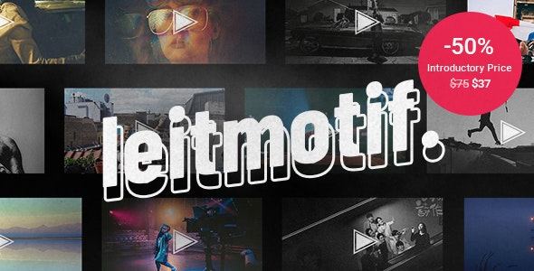 Tema Leitmotif - TEmplate WordPress