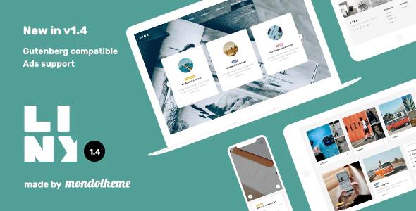 Tema Linx - Template WordPress
