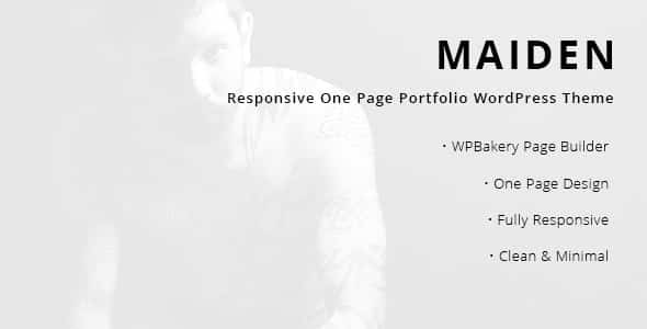 Tema Maiden - Template WordPress