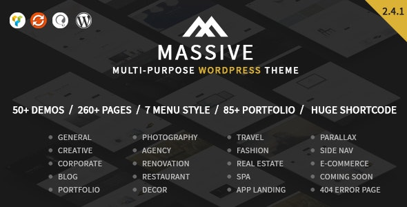 Tema Massive - Template WordPress
