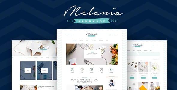Tema Melania - Template WordPress