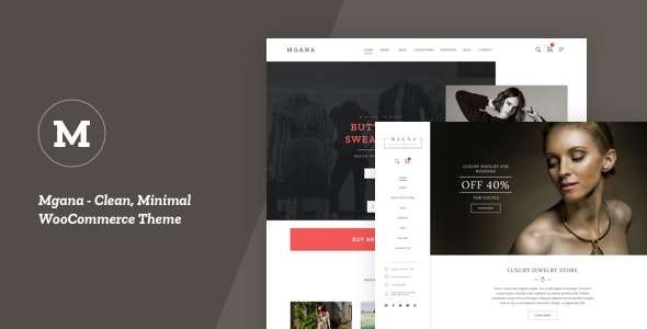 Tema Mgana - Template WordPress