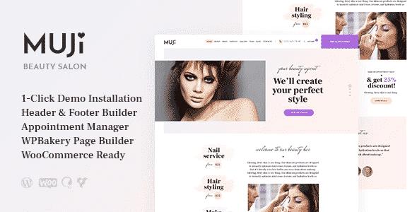 Tema Muji - Template WordPress