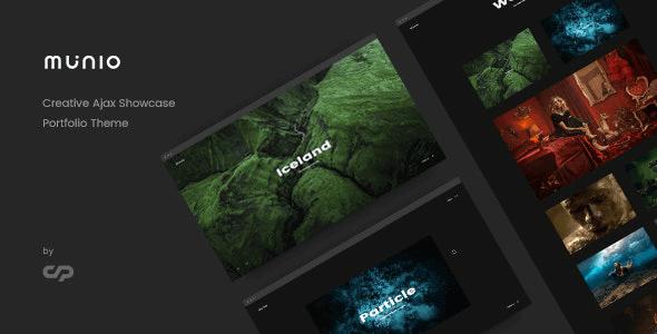 Tema Munio - Template WordPress