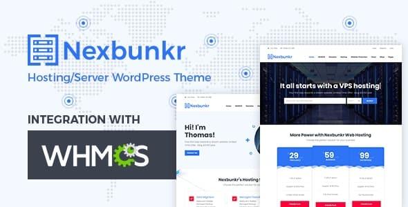 Tema Nexbunker - Template WordPress