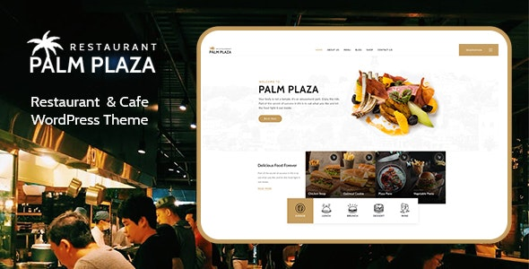 Tema PalmPlaza - Template WordPress