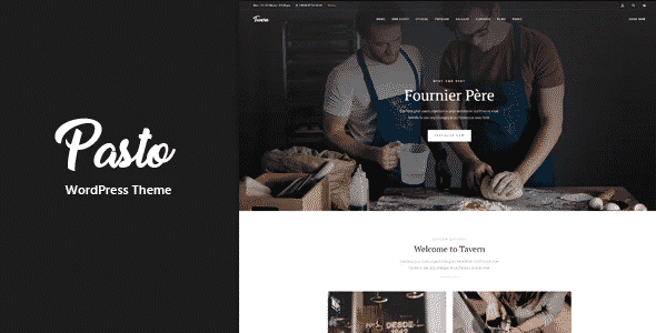 Tema Pasto - Template WordPress