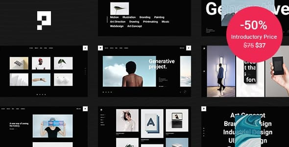 Tema Pearce - Template WordPress