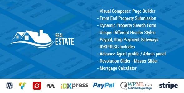 Tema Real Estate - Template WordPress