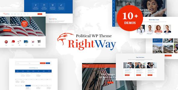 Tema Right Way - Template WordPress