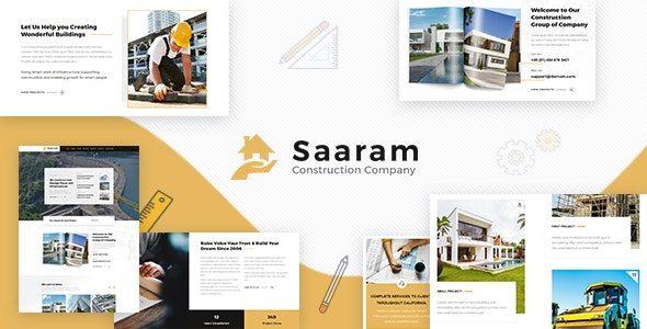 Tema Saaram - Template WordPress