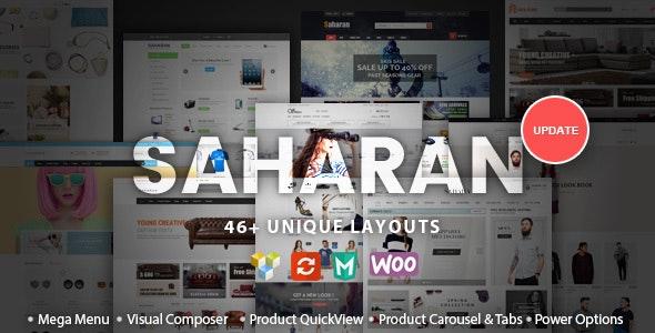 Tema Saharan - Template WordPress