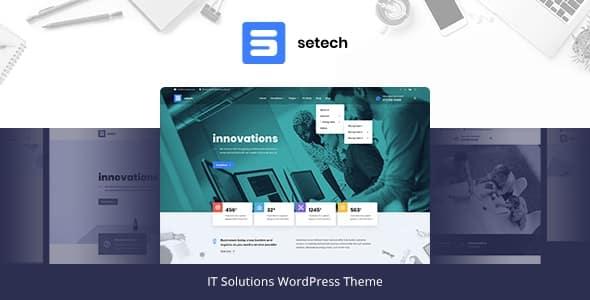 Tema Setech - TEmplate WordPress