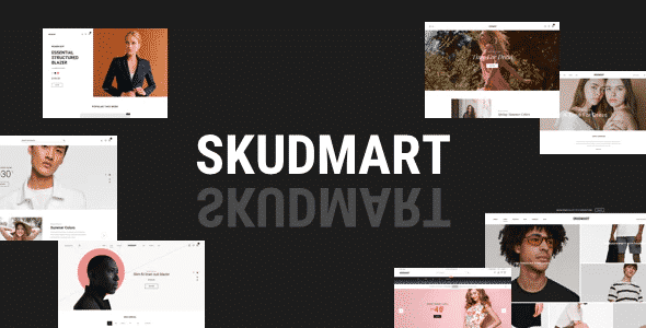 Tema Skudmart - Template WordPress