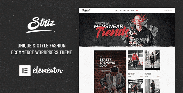 Tema Striz - Template WordPress