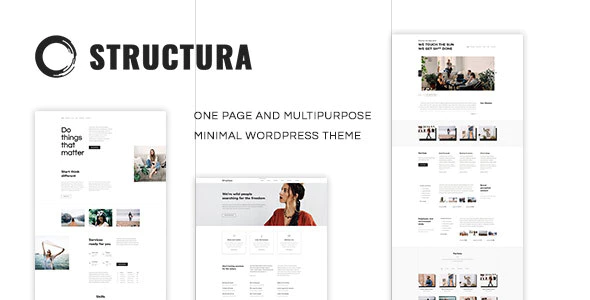 Tema Structura - Template WordPress