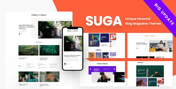 Tema Suga - Template WordPress