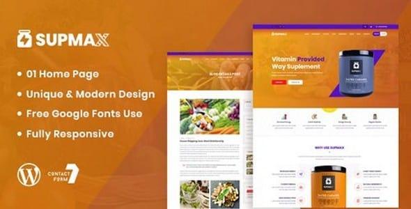 Tema Supmax - Template WordPress