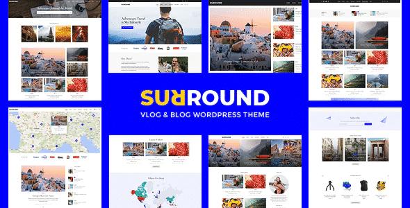 Tema Surround - Template WordPress