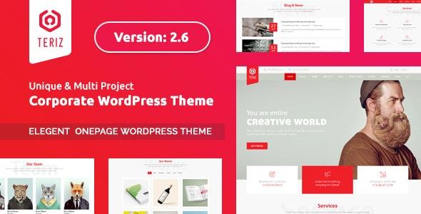 Tema Teriz - Template WordPress