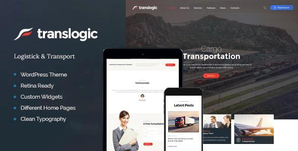 Tema Translogic - Template WordPress