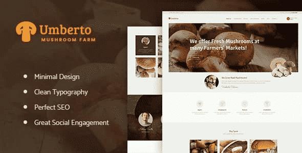 Tema Umberto - Template WordPress
