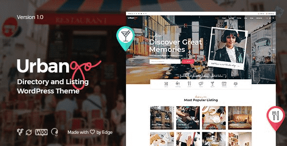 Tema Urbango - Template WordPress