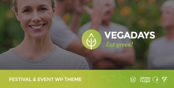 Tema Vegadays - Template WordPress