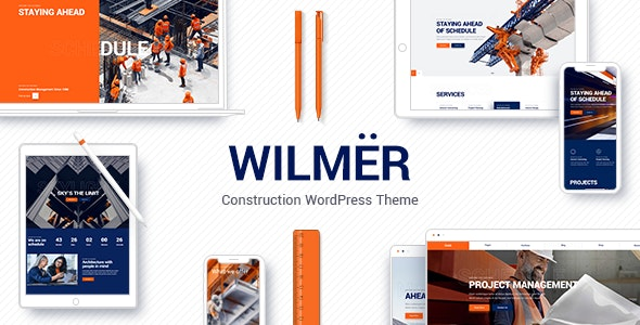 Tema Wilmer - Template WordPress