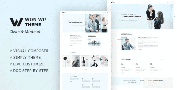 Tema Won - Template WordPress