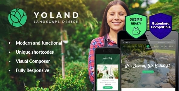 Tema Yoland - Template WordPress