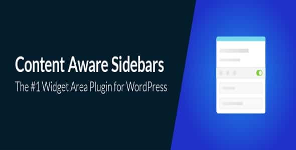 Plugin Content Aware Sidebars - WordPress