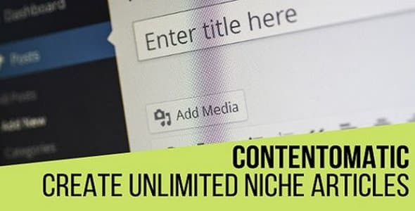 Plugin Contentomatic - WordPress