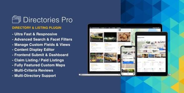 Plugin Directories Pro - WordPress