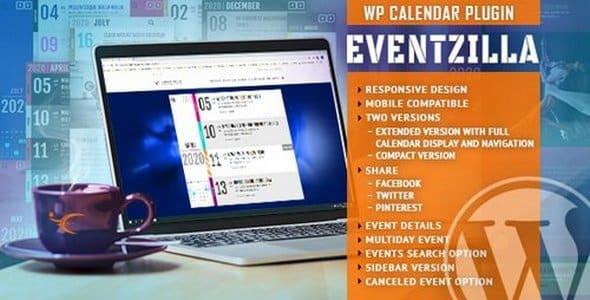 Plugin EventZilla - WordPress