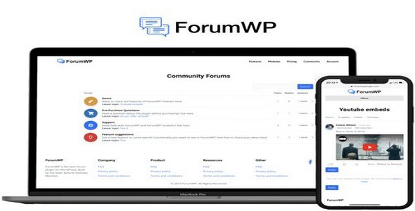 Plugin ForumWp - WordPress