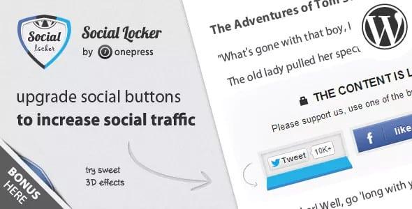 Plugin Social Locker for WordPress - WordPress
