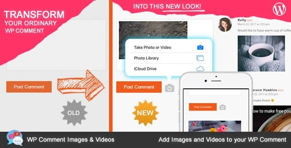 Plugin WP Comment Images and Videos - WordPress