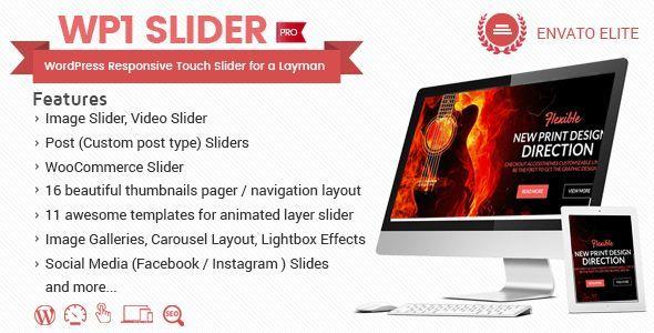 Plugin Wp1 Slider Pro - WordPress
