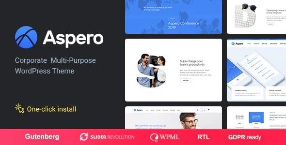 Tema Aspero - Template WordPress